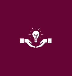 idea icon simple vector image