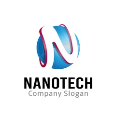 Nanotech Design vector image