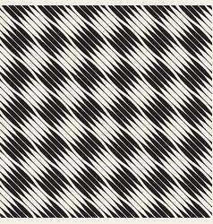Wavy stripes seamless pattern retro wavy vector