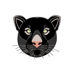 Black-Panther-Head-380x400 vector image