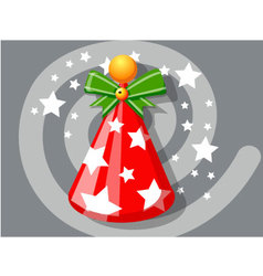 Hat icon christmas vector image vector image