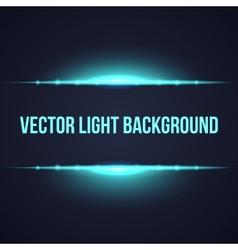 Horizontal bright frame light background vector image vector image