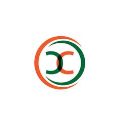 Cc company logo template design vector