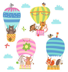 flying animals vector image