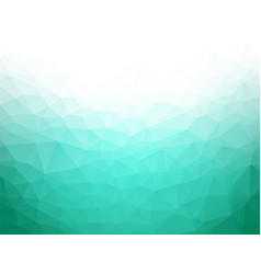 Geometric emerald texture background vector