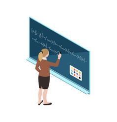 interactive board icon vector image