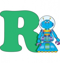 R is for robot vector