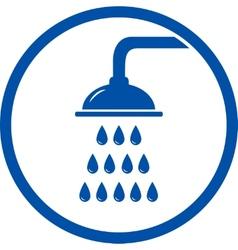 shower head icon vector image vector image