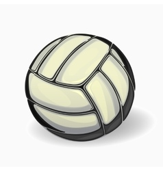 image of a volleyball ball vector image