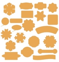 Set of Commercial Stickers Badges and Elements vector image vector image
