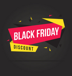 Black friday sale theme background vector