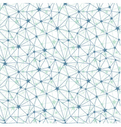blue grey stars network seamless pattern vector image