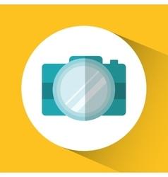 Camera gadget technology design vector