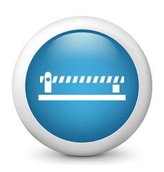 Carpark glossy icon vector