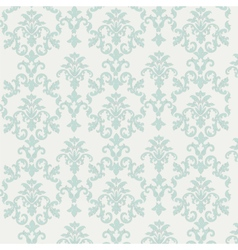Damask style ornament pattern vector image