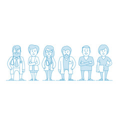 group doctors our medical staff vector image