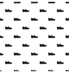 Loafer shoe pattern simple style vector image