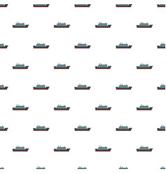 Ship trip pattern seamless vector
