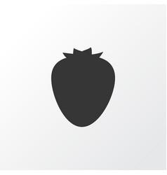 strawberry icon symbol premium quality isolated vector image