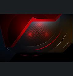 techno surface scene vector image