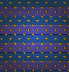 Aged seamless pattern with stars vector image