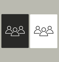 people - icon vector image