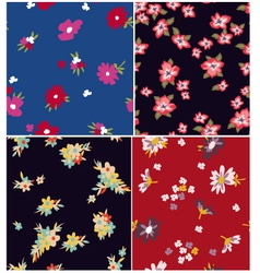 floral spring seamless vector image vector image
