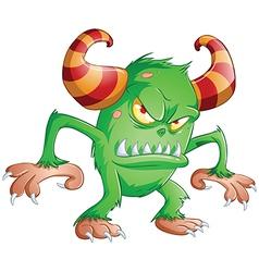 Halloween Monster 3 vector image vector image