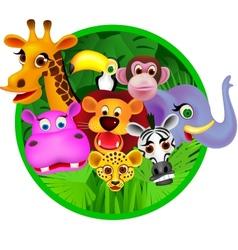 safari animal vector image vector image