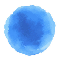 Abstract watercolor blue dots vector