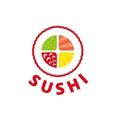 Logo sushi vector