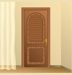 room interior vector image