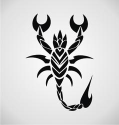 Tribal Scorpions vector image