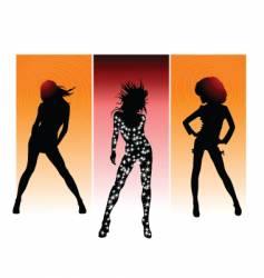 queen of night vector image vector image