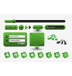 layout element design vector image