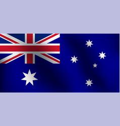flag of australia - vector image vector image