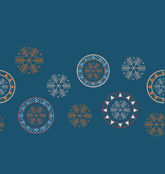 christmas concept seamless pattern vector image