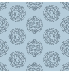 Roll wallpaper seamless pattern vector image