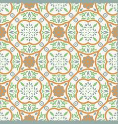 Spanish pattern tile seamless pattern vector