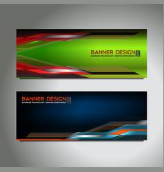 Web header banner vector