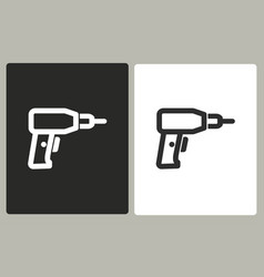 drill - icon vector image
