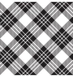 Macgregor tartan diagonal background pattern vector image vector image