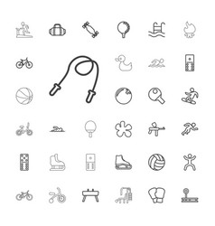 33 activity icons vector