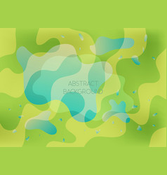 abstract green and blue vibrant background vector image