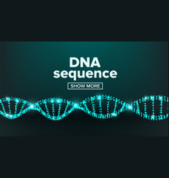 dna structure laboratory design healthy vector image