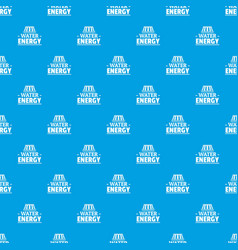 drop water energy pattern seamless blue vector image