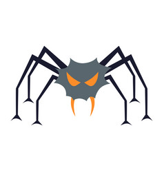 Evil spider vector