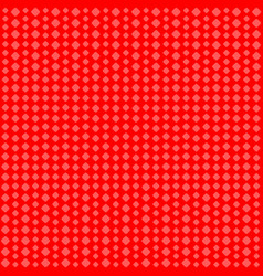 geometric background red squares of different vector image