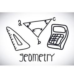 Geometry drawn vector