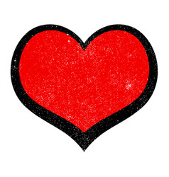 heart romantic love graphic vector image